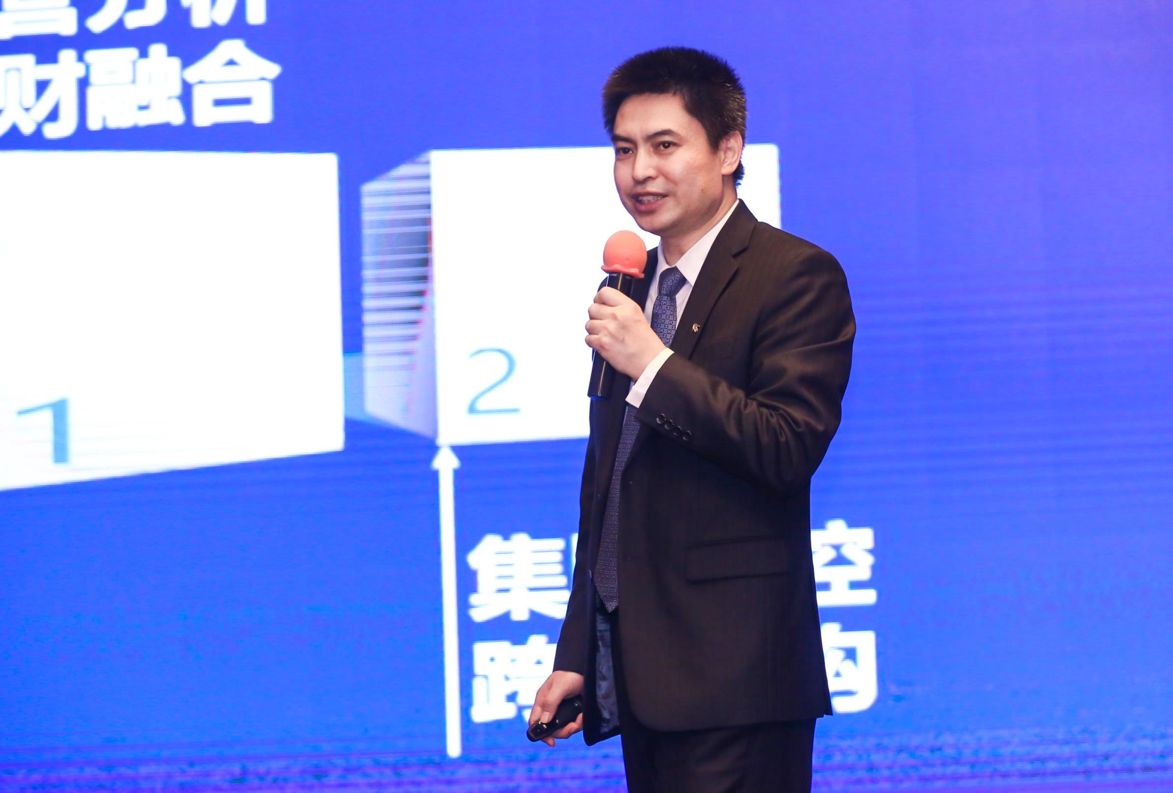 安越总经理 马爽先生  致辞并主题演讲