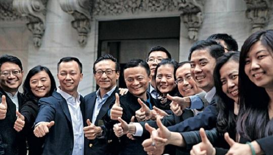 马云和他的团队